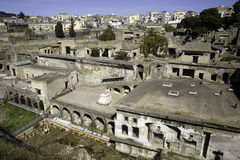 The ruins of Ercolano Stock Image