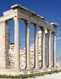 Ruins of Erechtheion temple - Acropolis Royalty Free Stock Photography