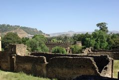 Ruins in Ethiopia Royalty Free Stock Images