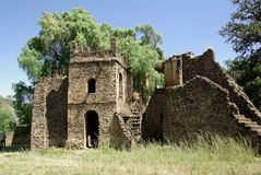 Ruins in Ethiopia Stock Photography