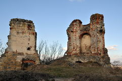 Ruins in the evening light Royalty Free Stock Image