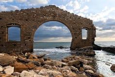 Ruins of factory, Avola, Sicily (Italy) Stock Photo