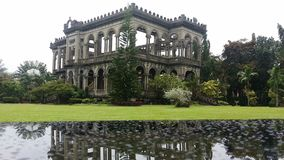 Ruins. The famous Bacolod Ruins Stock Images
