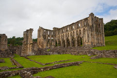 Ruins of famous Riveaulx Abbey Royalty Free Stock Photography