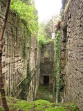 Ruins of farmhouses Royalty Free Stock Photos