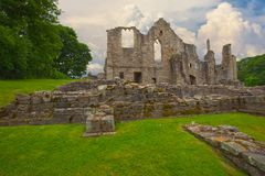 Ruins of Finchale Priory royalty free stock photography