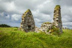 The ruins of Finlaggan, Islay. Scotland. The ruins of Finlaggan, the ancient seat of the Lord of the Isles. Islay, Scotland. UK stock image