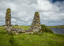 The ruins of Finlaggan, Islay. Scotland. Stock Images