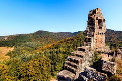 Ruins of Fleckenstein Royalty Free Stock Photo