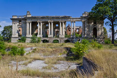 The ruins of Floresti I Royalty Free Stock Photo