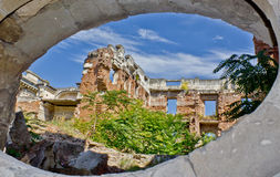 The ruins of Floresti VI Royalty Free Stock Photo