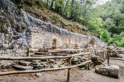 Ruins in the forest Royalty Free Stock Photo