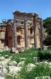 Ruins of the former city of Heliopolis, the city of God Baal, Ba Stock Images