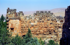 Ruins of the former city of Heliopolis, the city of God Baal, Ba Stock Photography