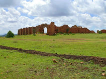 Ruins. Former defensive ancient fortification. Africa, Ethiopia. Stock Photo