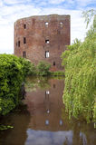 The ruins of the former Dutch castle Teylingen Stock Photography