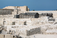 Ruins in fort Bahrein Royalty Free Stock Photos