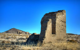 Ruins at Fort Churchill Stock Photography