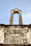 Ruins of Fort A Famosa Stock Image