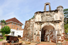 Ruins of Fort A Famosa Royalty Free Stock Photography