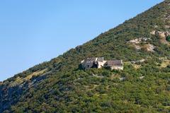 Ruins of the Fort Mollinary - Verona Italy Stock Photo