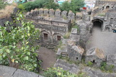 Ruins of Fort Paranda Stock Image