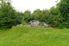 Ruins of the fort in Przemysl Poland Stock Images