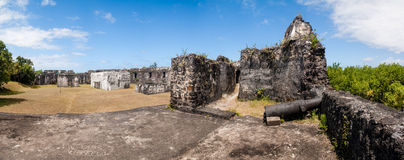Ruins of fortification Royalty Free Stock Images