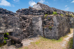 Ruins of fortification Royalty Free Stock Photos