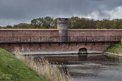 Ruins of the fortification of the Prussian fortress Royalty Free Stock Images