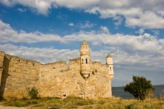 Ruins of fortress Stock Photography