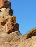 Ruins of the fortress Bomarsund (1832-1854) Royalty Free Stock Photos