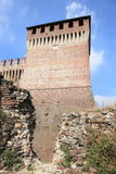 Ruins of fortress in Cremona Royalty Free Stock Photos