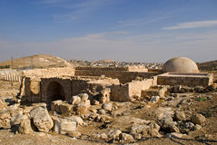 Ruins of the fortress of Herod, the Great, Herodium, Palestine Stock Photos