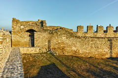 Ruins of fortress in Kavala, East Macedonia and Thrace Royalty Free Stock Photos