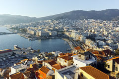 Ruins of fortress in Kavala, Greece Stock Photos