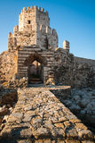 Ruins of the fortress of Methoni, Peloponnese, Greece Stock Photography