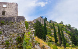 The ruins of the fortress Royalty Free Stock Photography