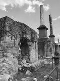 Ruins at Forum Romano Royalty Free Stock Photo