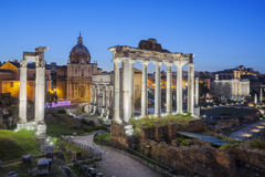 Ruins of Forum Romanum Royalty Free Stock Images