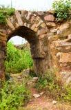 Ruins fragment of Tughlaqabad Fort in Delhi India Stock Photo