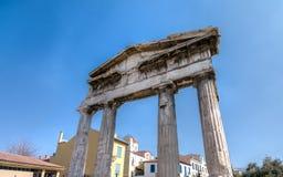 Ruins of the Gate of Athena Archegetis Stock Photos