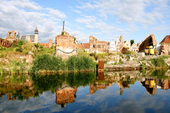 Ruins of Gdansk Stock Photography