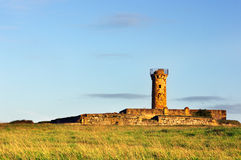 Ruins of getxo fort Royalty Free Stock Photos
