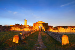 Ruins of getxo fort Royalty Free Stock Photo