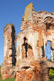 Ruins of the Gilzen's and Shadurski's palace Royalty Free Stock Images