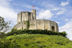 Ruins in Gisors (Normandy) Royalty Free Stock Images