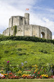 Ruins in Gisors (Normandy) Stock Photo