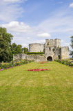 Ruins in Gisors (Normandy) Stock Photos
