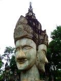 Ruins of god at Salakeawku Stock Images